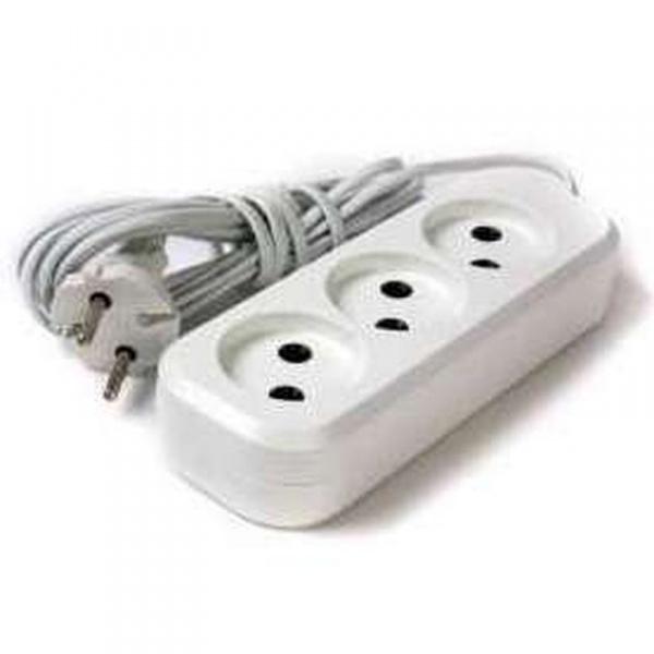 Удлинитель электрический 3 м/3 роз. б/з (ШВВП 2*0,5) (1/60) купить оптом и в розницу