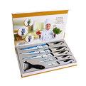 Набор ножей 6предметов (5ножей+овощечистка) С068-2 купить оптом и в розницу