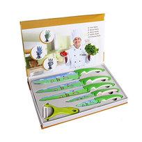 Набор ножей, 6 предметов (5 ножей, овощечистка) купить оптом и в розницу