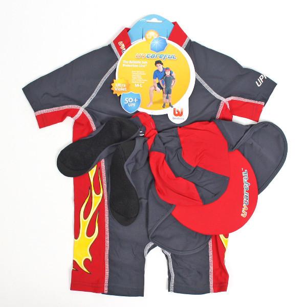 Костюм для купания c защитой от ультрафиолета UV Carful солнцезащитная кепка и носки Bestway (20039) купить оптом и в розницу