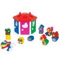 Логич.игрушка Домик логический в сетке 6196 /П-Е/12/ купить оптом и в розницу