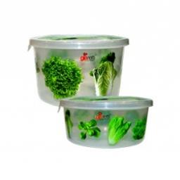 Комплект емкостей для продуктов Браво Салат круглых 0,5 л + 0,75 л *27 купить оптом и в розницу