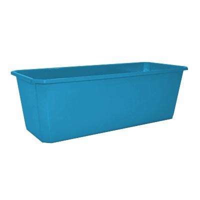 Ящик балконный 40 см светло-синий 20 купить оптом и в розницу