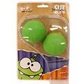 Мяч антистресс Ом Ном 5,5 см. 2 шт.  4601250118949 купить оптом и в розницу