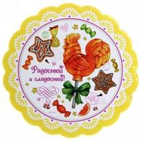 Магнит виниловый ″Радостей и сладостей!″, Сладкий петушок купить оптом и в розницу
