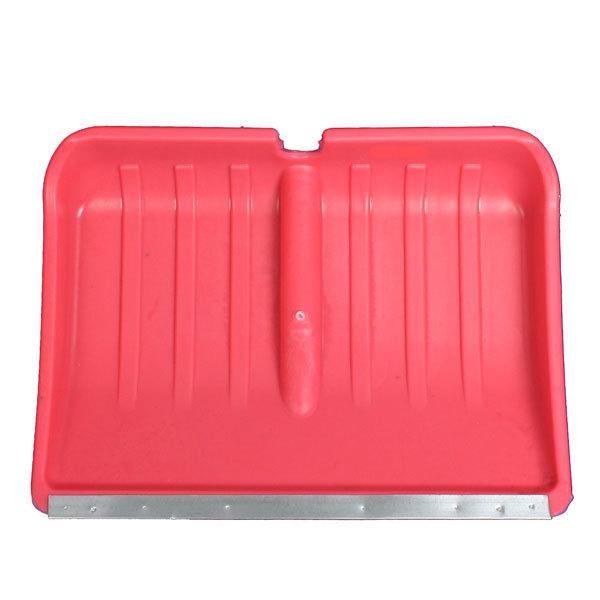 Лопата снеговая пластиковая с планкой 48*36 см купить оптом и в розницу