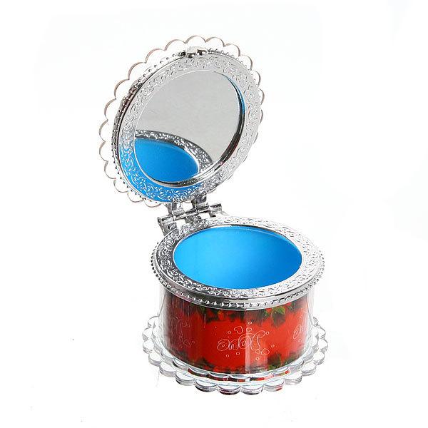 Шкатулка из пластика ″Любовь″ круглая d6*4 см купить оптом и в розницу