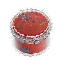 Шкатулка из пластика ″Сладкой″ круг d7,5*5 см купить оптом и в розницу