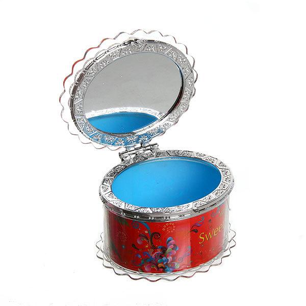 Шкатулка из пластика ″Сладкой″ овал 8*7*6 см купить оптом и в розницу