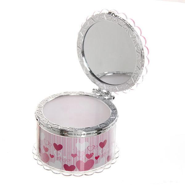 Шкатулка из пластика ″Сладкая любовь″ круг d7,5*5 см купить оптом и в розницу
