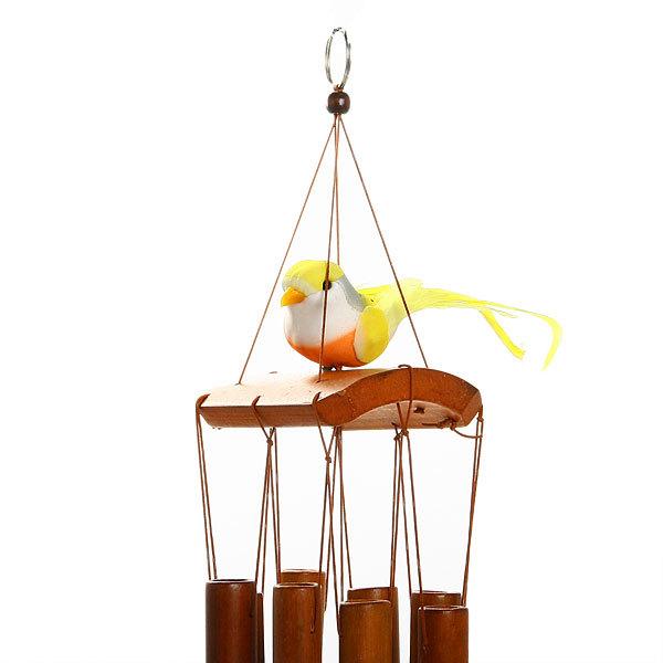 Музыка ветра ″Бамбук″ Птичка 50см 059 купить оптом и в розницу