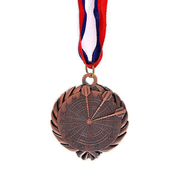 Медаль ″Дартс″ - 3 место (6см) 248 купить оптом и в розницу