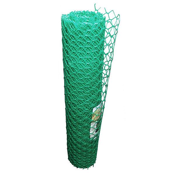 Сетка садовая, размер 1,5*10 м, размер ячеек 70*58 мм (хаки) купить оптом и в розницу