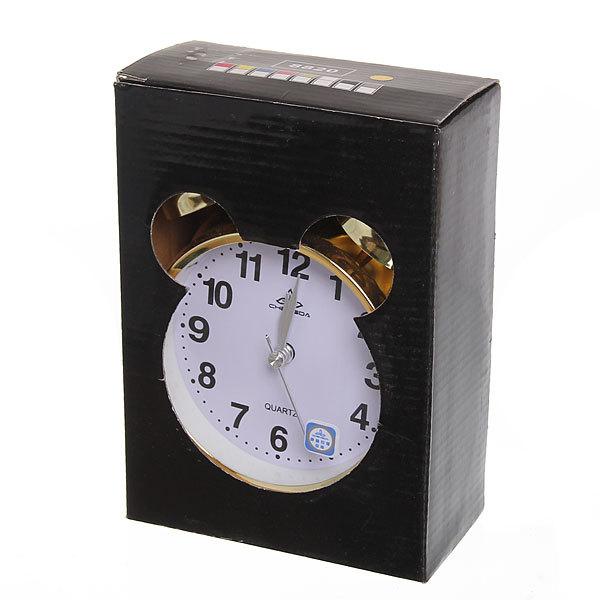 Будильник металлический ″Золото″ 17*15см DS-8820 купить оптом и в розницу