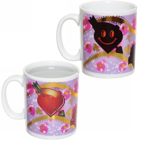 Кружка керамическая 320мл ″Love-2″ магическая купить оптом и в розницу