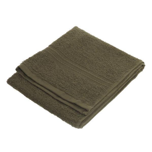 Махровое полотенце 40*70см темно-оливковое ЭК70 Д01 купить оптом и в розницу