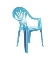 Кресло детское (голубой)(уп.5) (Октябрьский) купить оптом и в розницу