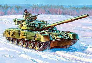 Сб.модель 3591 Танк Т-80У купить оптом и в розницу