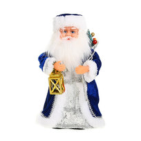 Дед Мороз музыкальный 30см с фонариком купить оптом и в розницу