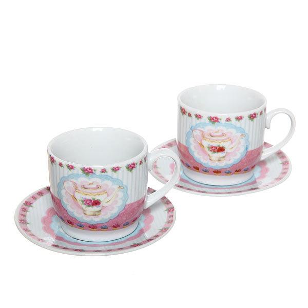 Чайный набор 4 предмета 180мл ″Чаепитие″ купить оптом и в розницу