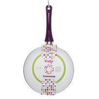 Сковорода ″Селфи-Фиолет″ d-24 см 2,5 мм керамическое покрытие TCZ-24 купить оптом и в розницу