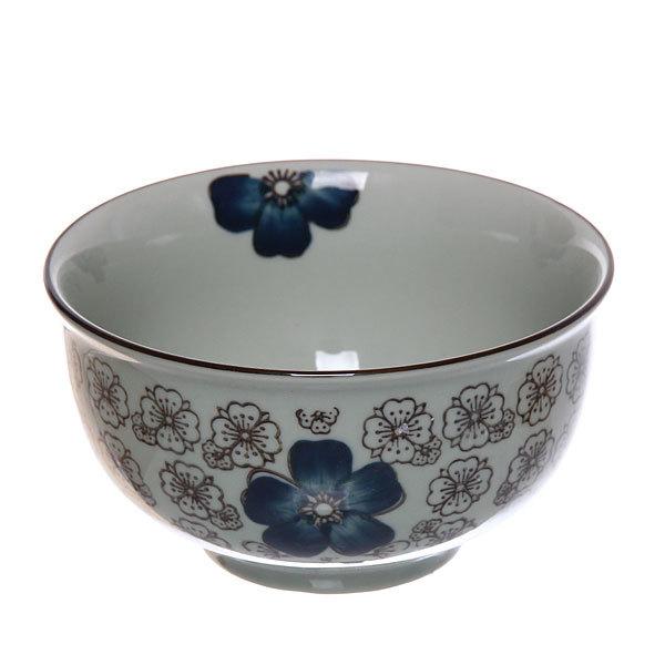 ″Синий цветок″ Салатник керамический 500мл купить оптом и в розницу