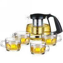Набор чайный 5 предметов: чайник 750 мл и 4 чашки 150 мл купить оптом и в розницу