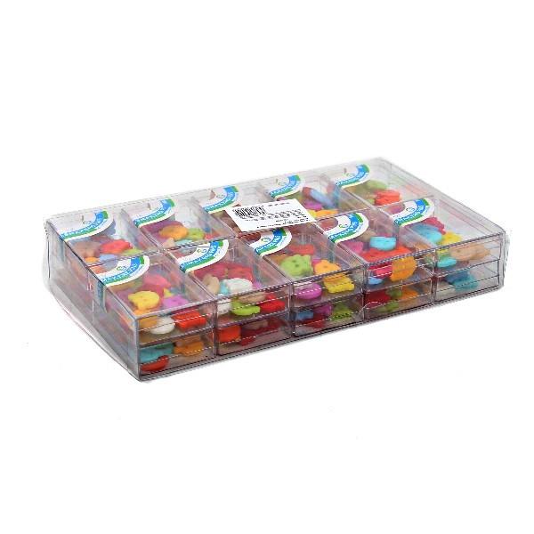Пуговицы ″Мишки″ 300 шт. (в 20 коробочках) купить оптом и в розницу