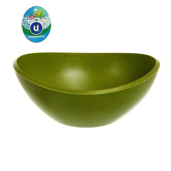 Горшок для цветов ЭКО Чаша″ 10,5*19см YBA02 зеленая купить оптом и в розницу