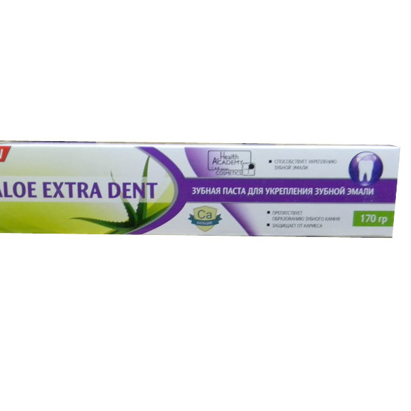 Зубная паста ″Aloe Extra Dent″ Комплексная защита 170 гр купить оптом и в розницу