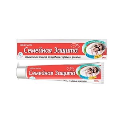 Зубная паста ″СЕМЕЙНАЯ″, ″Vilsendent″ Семейная защита 170 гр купить оптом и в розницу