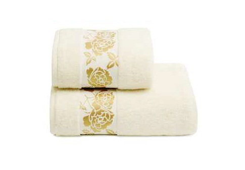ПЦ-2601-2139 полотенце 50x90 махр г/к Gold Flower цв.218 купить оптом и в розницу
