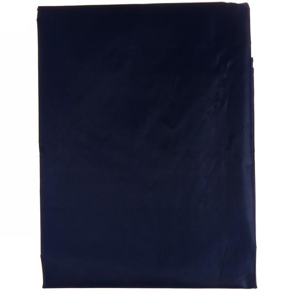 Штора для ванны 170х180 ″Селфи″ полиэстер синяя купить оптом и в розницу