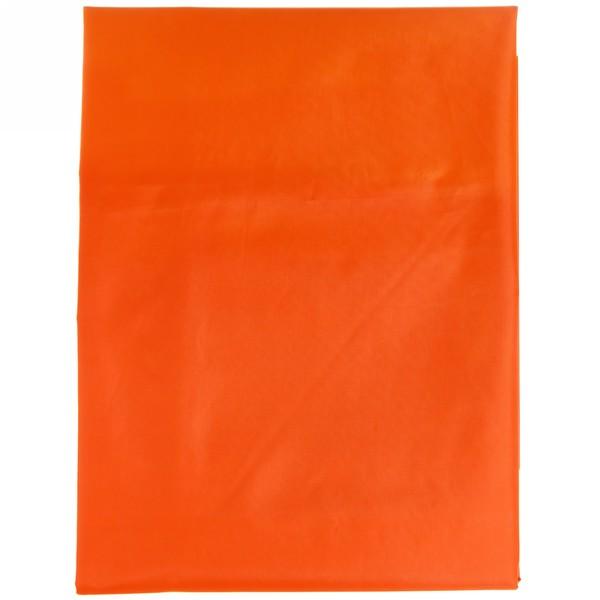 Штора для ванны 170х180 ″Селфи″ полиэстер оранжевая купить оптом и в розницу