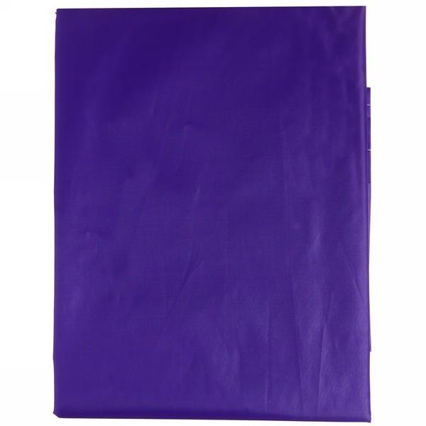 Штора для ванны 170х180 ″Селфи″ полиэстер фиолетовая купить оптом и в розницу