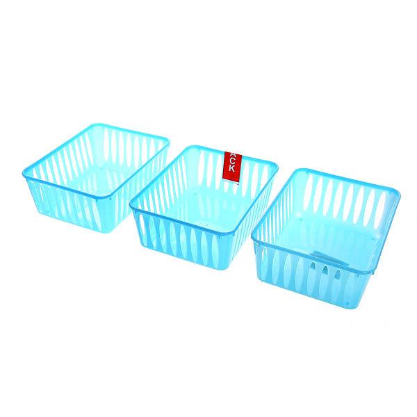 Корзинки для хранения мелочей 3шт. 272-341 15,5х11х6 купить оптом и в розницу
