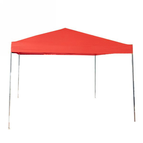 Тент раздвижной 3мх3мх2,6м красный без стенок купить оптом и в розницу