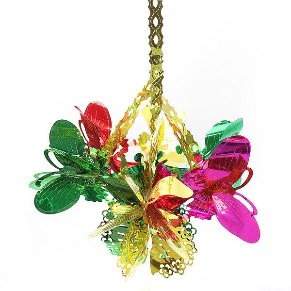 Украшение новогоднее Бабочки 60 см купить оптом и в розницу