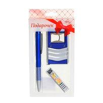 Подарочный набор (Ручка+брелок″3 в 1″+книпсер) ТВ-21 купить оптом и в розницу