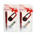 Подарочный набор (ручка, брелок ″Компас″, книпсер) купить оптом и в розницу