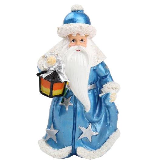 Фигурка ″Дед Мороз с фонарем″ 14,5см купить оптом и в розницу