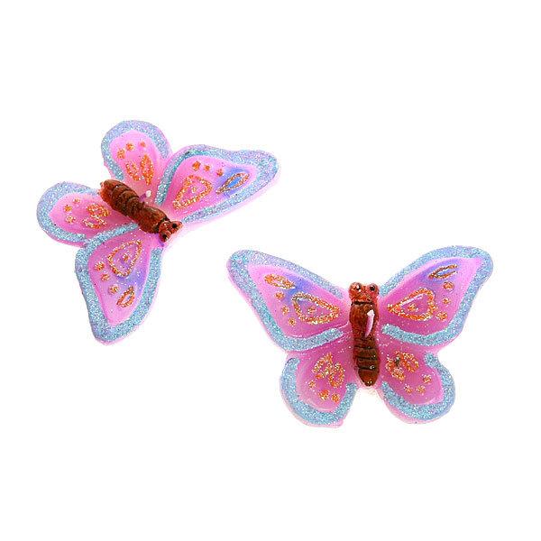 Свеча ″ Бабочки ″ 2 шт купить оптом и в розницу