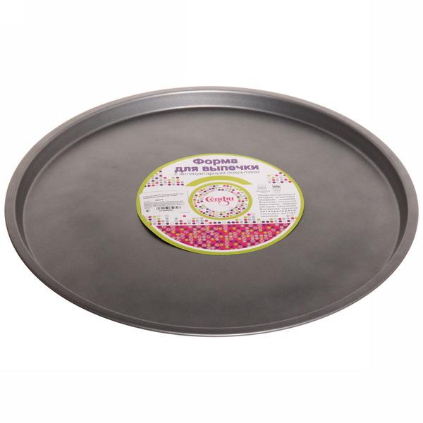 Форма для выпечки металлическая 33*1,6см с антипригарным покрытием ″Селфи″ купить оптом и в розницу