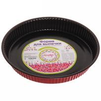 Форма для выпечки металлическая 24*3,5см с антипригарным покрытием ″Селфи″ купить оптом и в розницу