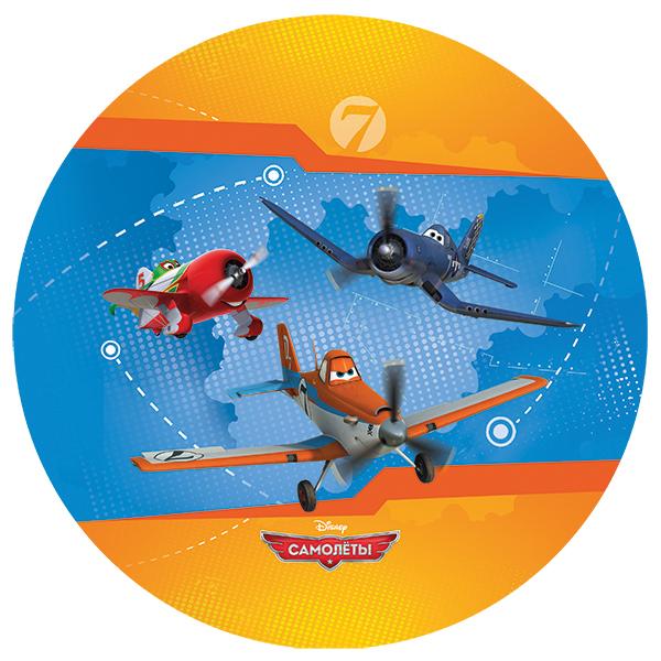 Мяч 23см FPB-9(PL) Самолеты купить оптом и в розницу