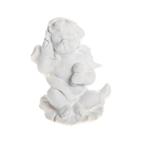 Фигурка из полистоуна ″Белый Ангел″ 5,5*3 см купить оптом и в розницу
