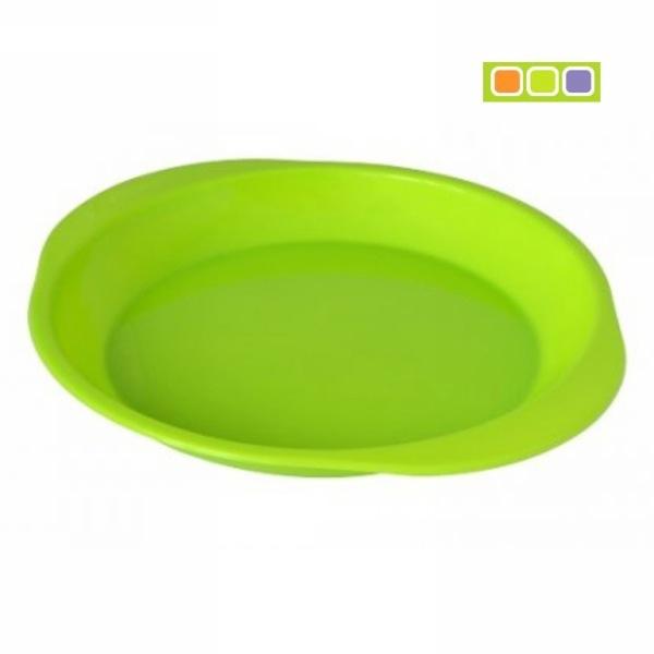 Тарелка пластиковая ″Чезаре″ для вторых блюд С155 купить оптом и в розницу