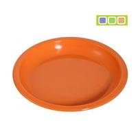 Тарелка пластиковая для вторых блюд 18*2см купить оптом и в розницу