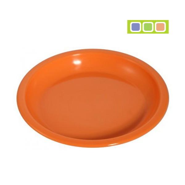 Тарелка пластиковая для вторых блюд 180х20 С152 купить оптом и в розницу