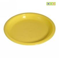 Тарелка пластиковая для закусок 16*15см купить оптом и в розницу